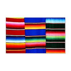 Serape stripes Wall Decal