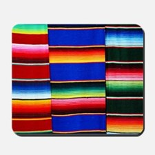 Serape stripes Mousepad