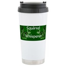 Cute Squirrel whisperer Travel Mug