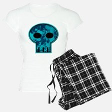 Blue Skull Pajamas