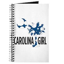 Blue Polka Dot Carolina Girl 2 Journal