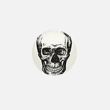Skull Mini Button