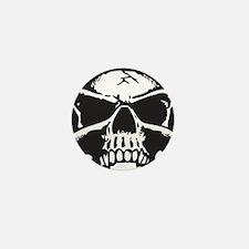 Vampire Skull Mini Button