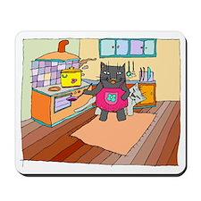 Cat Chef Mousepad