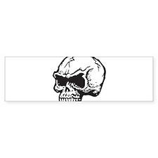 Vampire Skull Bumper Bumper Sticker