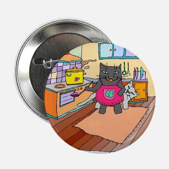 Cat Chef Button