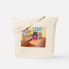 Cat Chef Tote Bag