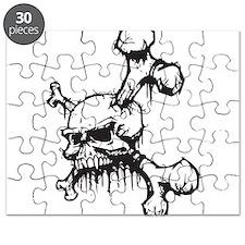 Skull and Bones Puzzle