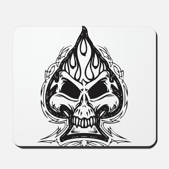 Skull Spade Mousepad