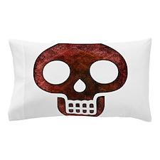 Textured Skull Pillow Case