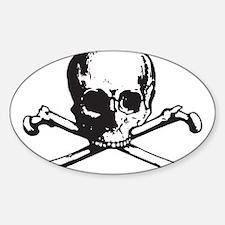 Skull and Bones Decal