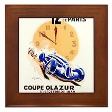 12 Hours of Paris Coupe Olazur Race 1939 Poster Fr