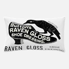 Vintage Raven with Shoe  Pillow Case
