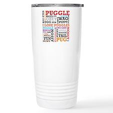 Cute Pugle Travel Mug