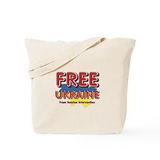 Free Ukraine Tote Bag
