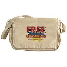 Free Ukraine Messenger Bag