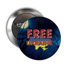 "Free Ukraine 2.25"" Button"