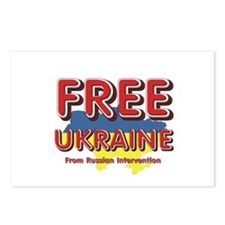 Free Ukraine Postcards (Package of 8)