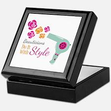 Beauticians Do It With Style Keepsake Box