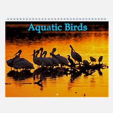 Aquatic Birds Wall Calendar