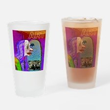 Art Lover Drinking Glass