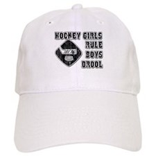 Hockey Girl Baseball Cap
