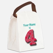 Your Name is 4 Canvas Lunch Bag