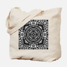 Intricate Cross Geometry  Tote Bag