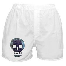 Textured Skull Boxer Shorts