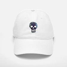 Textured Skull Baseball Baseball Baseball Cap