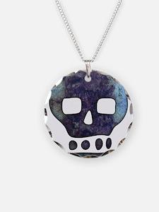 Textured Skull Necklace