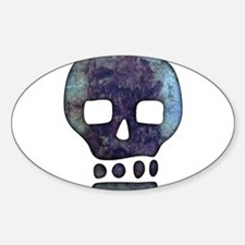 Textured Skull Decal