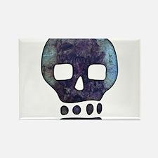Textured Skull Magnets