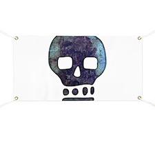 Textured Skull Banner