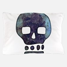 Textured Skull Pillow Case