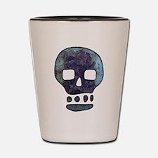 Textured Skull Shot Glass