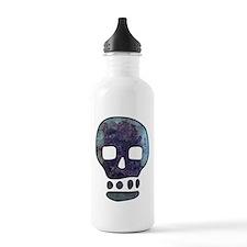Textured Skull Water Bottle