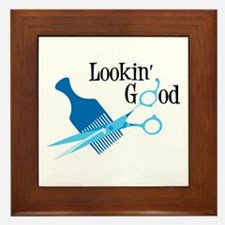 Lookin Good Framed Tile