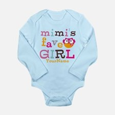 Mimis Favorite Girl - Personalized Long Sleeve Inf
