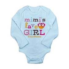 Mimis Favorite Girl - Personalized Onesie Romper Suit