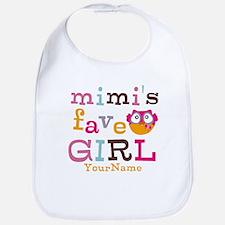 Mimis Favorite Girl - Personalized Bib