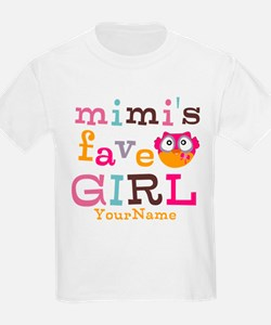 Mimis Favorite Girl - Personalized T-Shirt