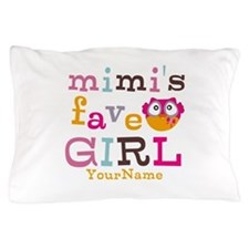 Mimis Favorite Girl - Personalized Pillow Case