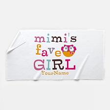Mimis Favorite Girl - Personalized Beach Towel