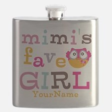 Mimis Favorite Girl - Personalized Flask
