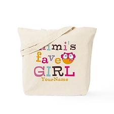 Mimis Favorite Girl - Personalized Tote Bag