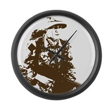 Soldier Large Wall Clock