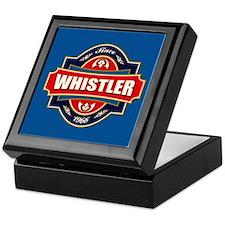 Whistler Old Label Keepsake Box
