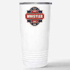 Whistler Old Label Stainless Steel Travel Mug