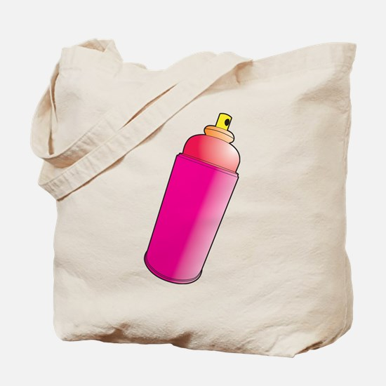 Spray Paint Tote Bag
